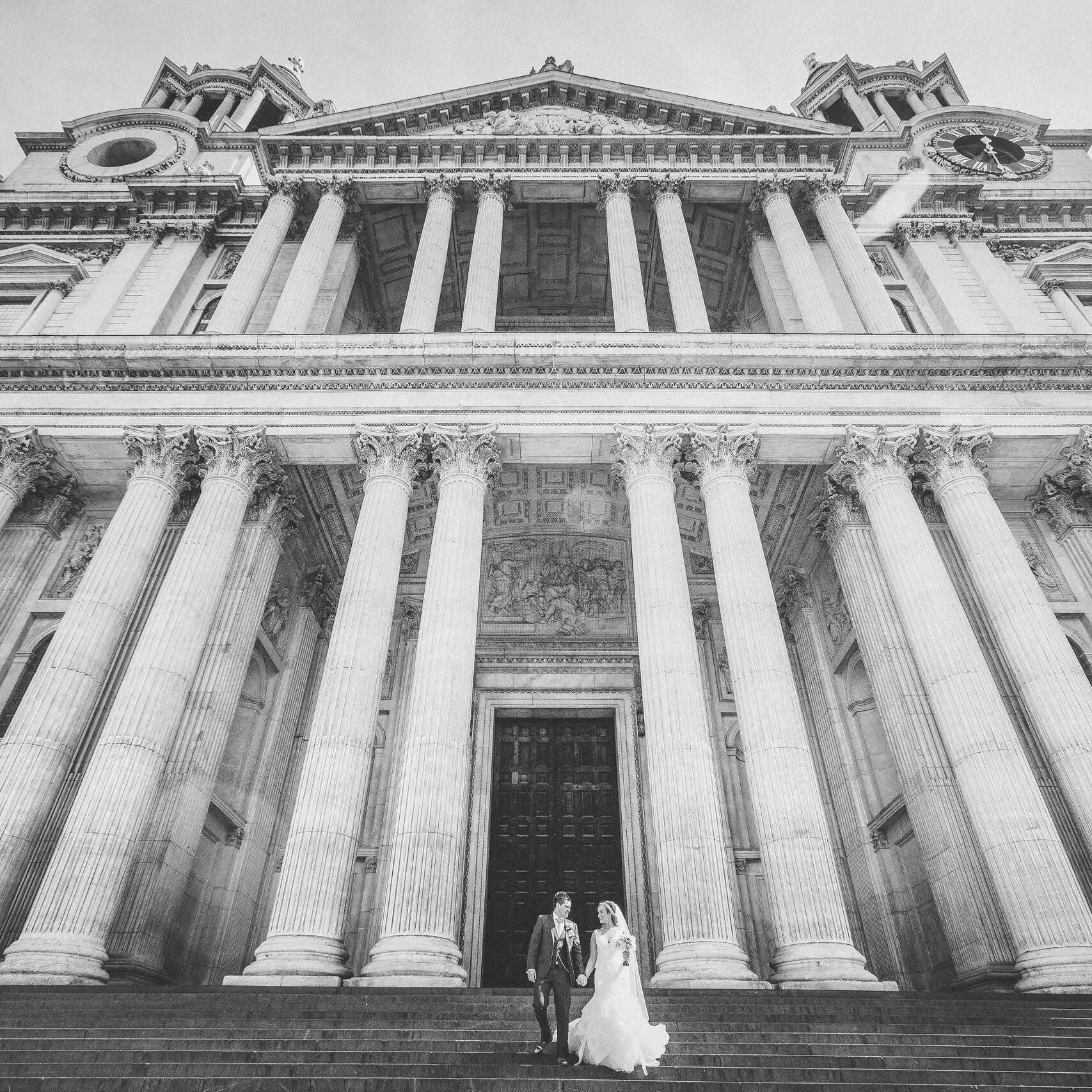 St Paul's Cathedral Wedding Photographer