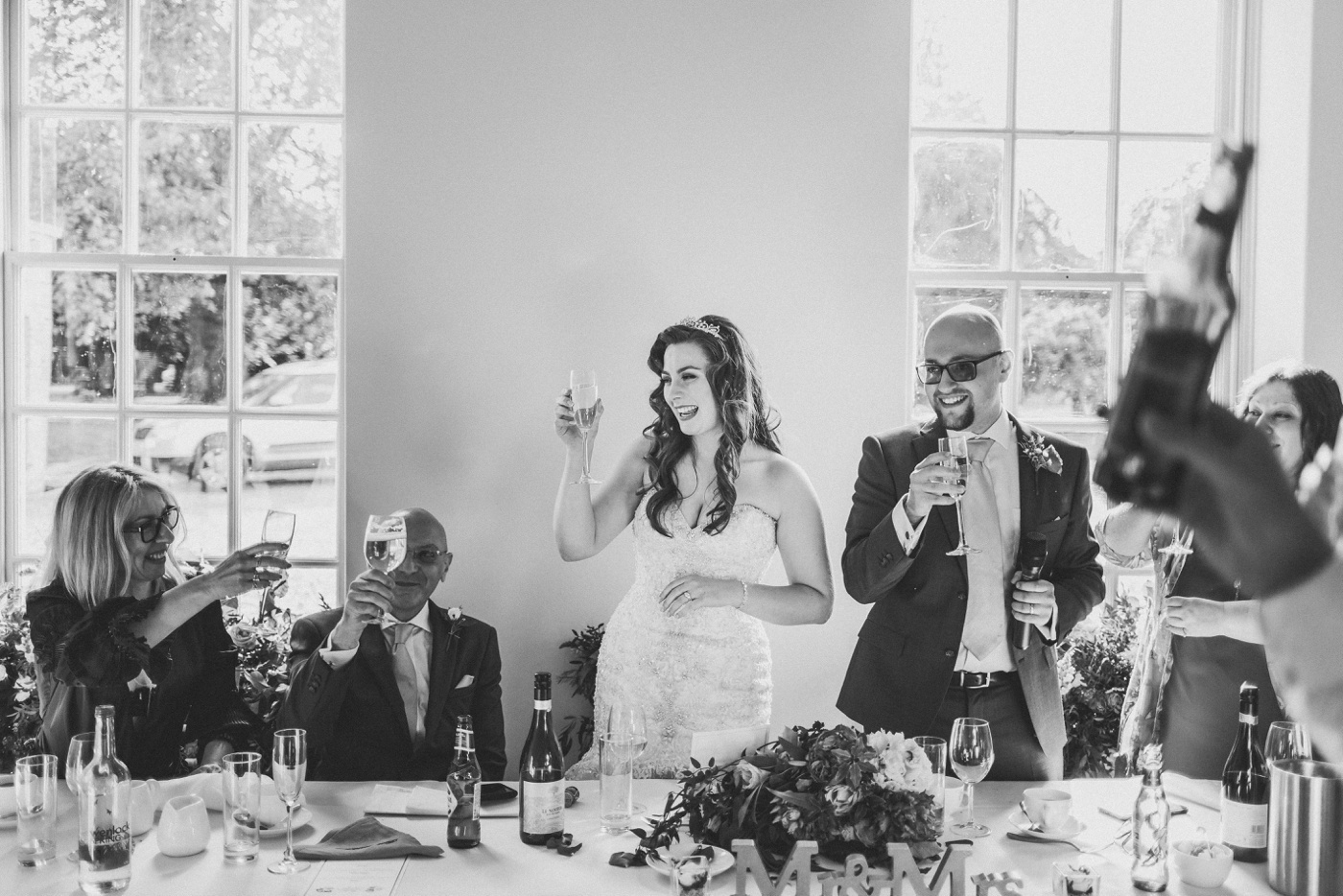 toast during wedding speeches